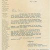 Letter from Jean Dalrymple (director, NY City Center Light Opera Co.) offering tickets for the 1963 revival of Oklahoma!
