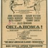 Advertisement for the upcoming 1965 revival of Oklahoma!