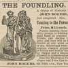 The Foundling [John Rogers advertisement].
