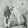 "Publicity photograph of Bert Williams and George Walker from the musical ""In Dahomey"""