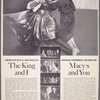 Advertisement for the 1960 revival of The King and I featuring Barbara Cook (Anna Leonowens) and Farley Granger (The King)]