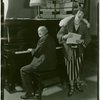 [Lew Fields (Franz Henkel) and Louise Kelley (Ruth Davis) in The Melody Man]