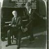 [Lew Fields (Franz Henkel) and Sam White (Bert Hackett) in The Melody Man]