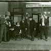 [Fredric March (Donald Clemens), Eva Puck (Stella Mallory), Sam White (Bert Hackett), Lew Fields (Franz Henkel) and Donald Gallaher (Al Tyler) in The Melody Man]
