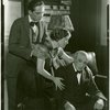 [Fredric March (Donald Clemens), Betty Weston (Elsa Henkel) and Lew Fields (Franz Henkel) in The Melody Man]