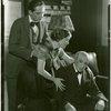 [Fredric March (Donald Clemens), Betty Weston (Elsa Henkel) and Lew Fields (Franz Henkel) in The Melody Man]