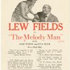 [Flyer (1924) advertising The Melody Man at the Ritz Theatre]