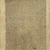 Letter of Columbus to Luis de Santangel, dated 15 February 1493