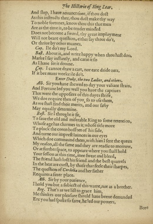 This is What William Shakespeare and Text Looked Like  in 1608