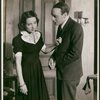 Phoebe Brand and Sanford Meisner in a scene from Awake and Sing!
