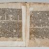 Folios 25v-26r: Genesis 15:4-16:6
