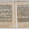 Folios 73v-74r: Genesis 31:23-42