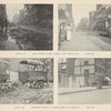 East Houston Street looking west (March 1893 & June 1895), Northeast corner of Fouth Street and Avenue D (March 1893 & May 1895) [top] ; Ridge Street, looking north from Rivington Street (March 1893 & June 1895), In front of 299 East Third Street (March 1893 & May 1895) [bottom]