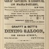The Original Cheap Clothing Warehouse; Grafft & Bett's Dining Saloon [Ads].