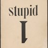 Stupid, [Cover]