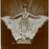 Unidentified actress wearing butterfly costume (front and back views) in Babes in Toyland.