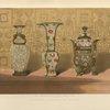 Chinese enamelled vases.