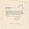 Letter to John Hartigan  [from Embury II, Aymar] /1938 April 12 /