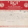 Telegraph - RCA Communications, INC. /1938 March 7 /form