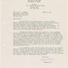 Letter to Grover A. Whalen [from Moses, Robert] /1938 March 7