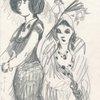 Untitled, Female Figures, Fashion]