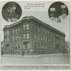 Provident Hospital and Training School for Nurses, Chicago, founded by surgeon Daniel Hale Williams, also depicted, in 1891.