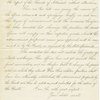 Letter to Abraham Lincoln.