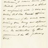 Memoranda submitted for the consideration of President Lincoln relating to the proposed instructions to Navy Officer.