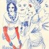 Untitled, Female Figure, Fashion, Face, Jewelry]