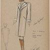 Boxy T silhouette coat.