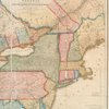 New travelling and commercial map of the Canadas : from the Sault of St. Marie to the river Saguenay, and a large section of the United States of America