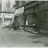 Another view of damages to Harlem businesses after riot following death of Rev. Dr. Martin Luther King, Jr., April 1968
