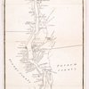 An improved map of the Hudson River : with the post roads between N. York & Albany