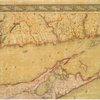 Map of Long Island with the environs of New-York and the southern part of Connecticut