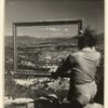 Using an Empty Frame, André Lhote Shows His Pupils How to Compose a Landscape