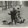 Children Playing in Luxembourg Gardens, Paris