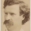 Portrait photograph of Samuel L. Clemens.