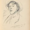 "Portrait-sketch of Miss Paget (""Vernon Lee"")"