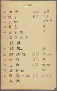 Li ji ji shi: er shi wu juan