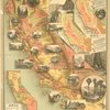 The unique map of California