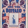 Are you a buffalo?