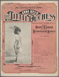 Banjo serenade (Chloe I'm waitin') / words by Harry B. Smith ; music by Reginald de Koven.