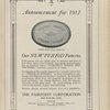 "Ad: The Pairpoint Corporation - ""Announcement for 1917 - Our New Period Patterns."""
