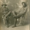 Pvt. Dave Kelly and Sgt. Richard Owens of the 369th Infantry Regiment, also known as the Harlem Hellfighters, during World War I