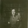 W.E.B. DuBois in his study in his later years