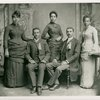 W. E. B. Du Bois with the Fisk University class of 1888]
