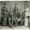 W. E. B. Du Bois with the Fisk University class of 1888]