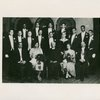 Groom's party  at the wedding of  Countee Cullen and Yolanda Du Bois