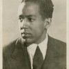 Langston Hughes as a young man.]