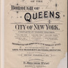 Atlas of the Borough of Queens. City of New York complete in Three Volumes. Volume One, Fourth and Fifth Wards. Jamaica and Rockaway. [Title page]